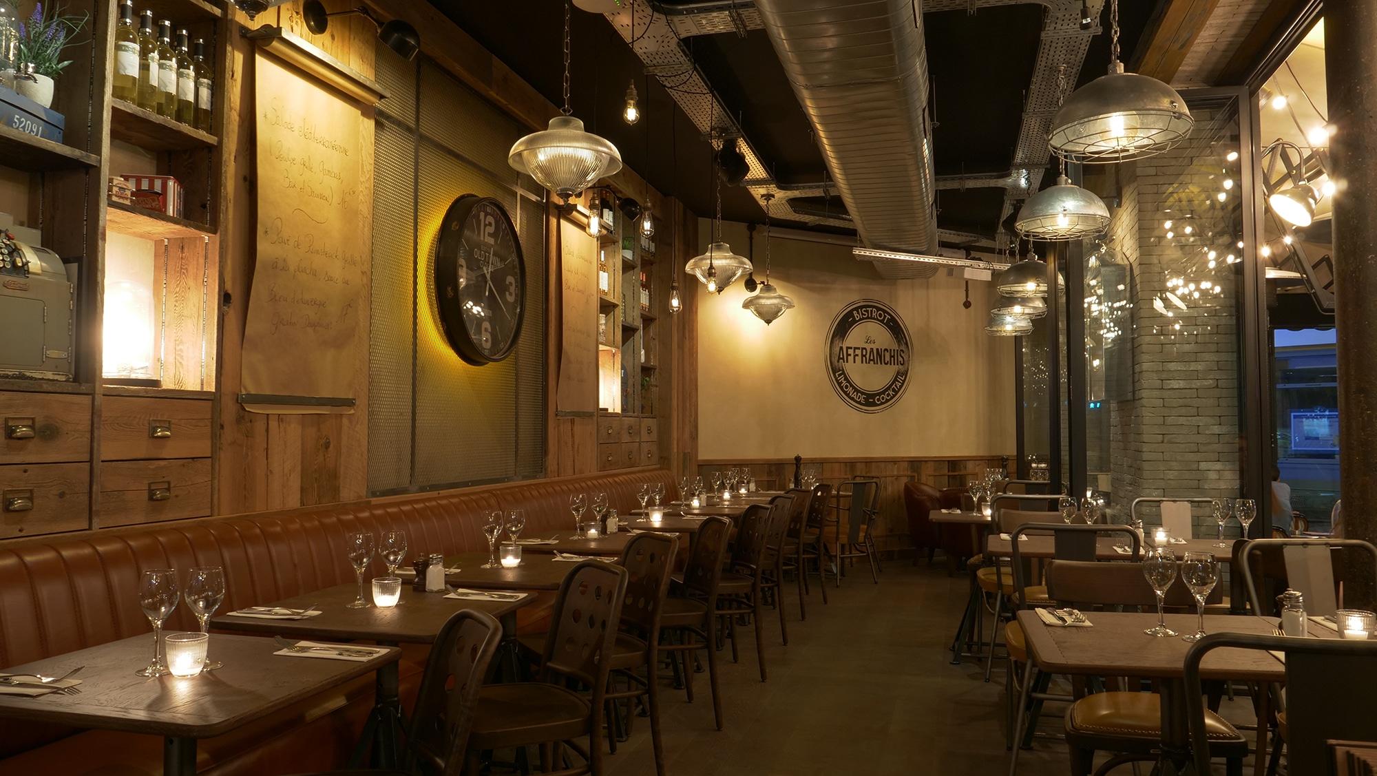Salle Brasserie Les Affranchis Paris 13e