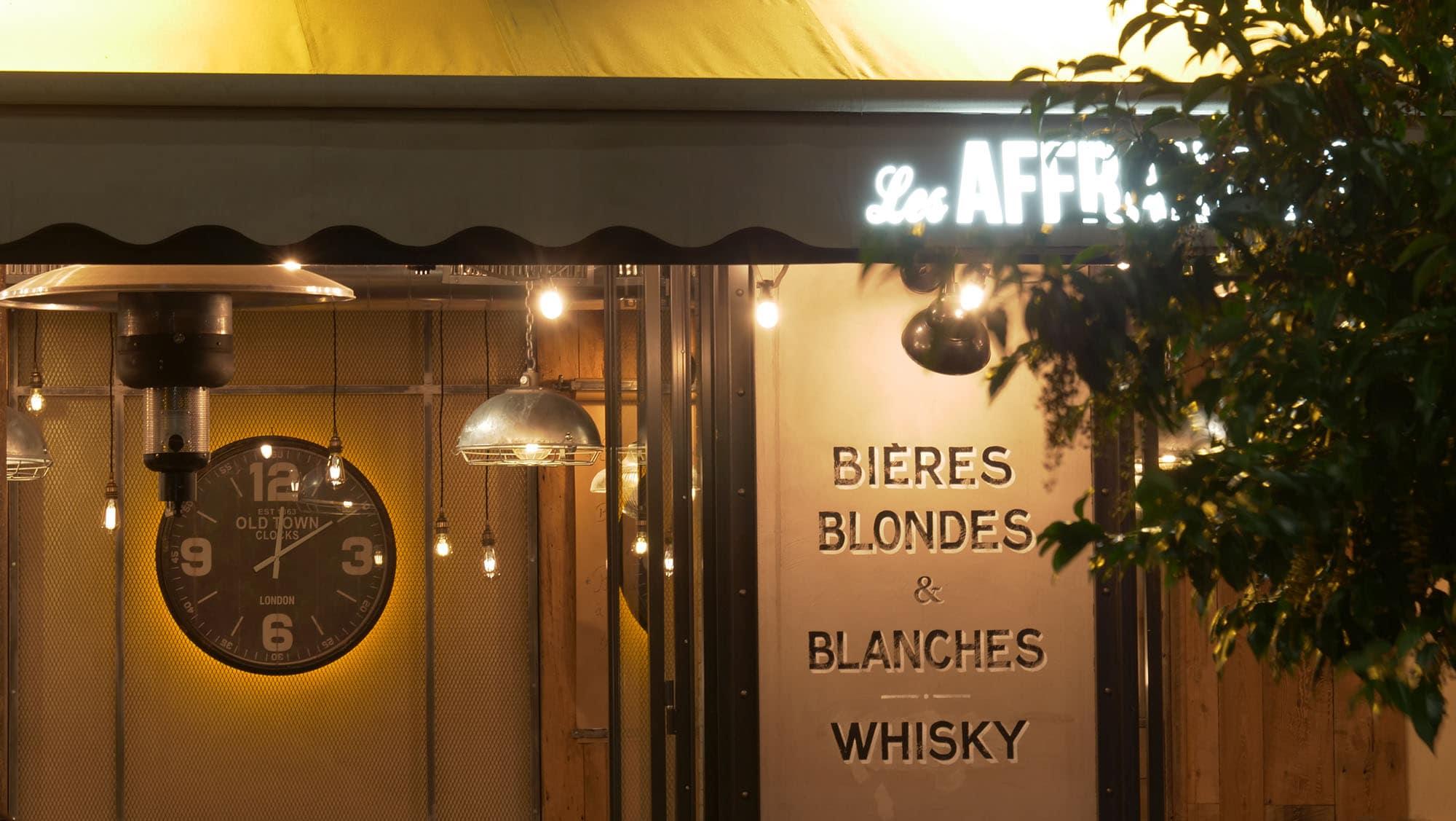 Entrée Brasserie Les Affranchis Paris 13e