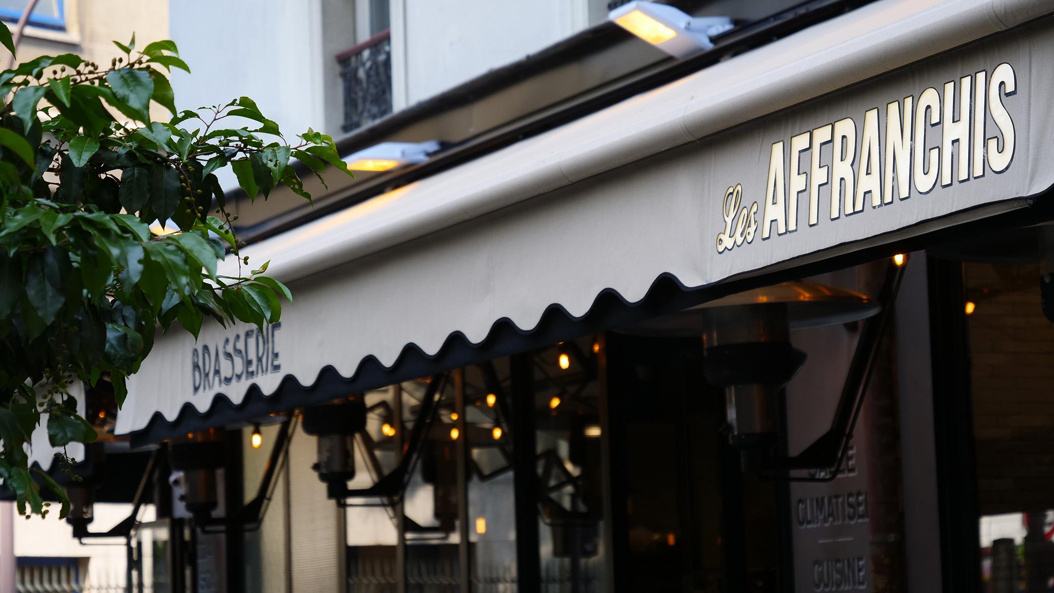 Rideau Les Affranchis Paris 13e