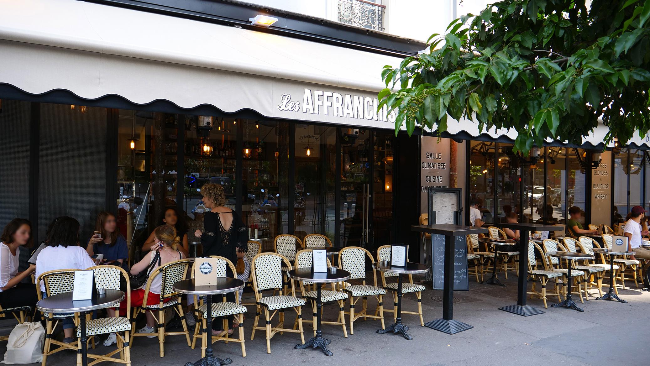 Terrasse Les Affranchis Paris 13e
