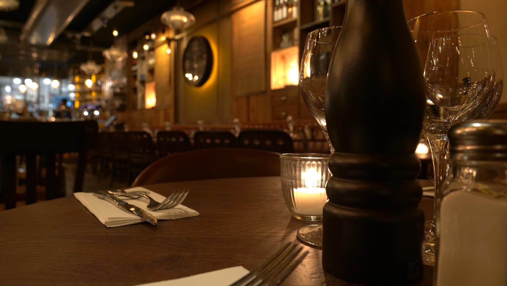 Table Brasserie Les Affranchis Paris 13e